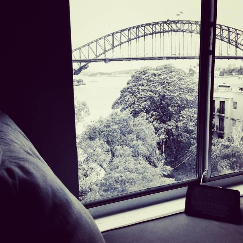Sydney Harbour Bridge Writing Backdrop