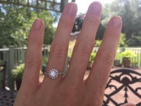 Woodham Walter in summer with my engagement ring