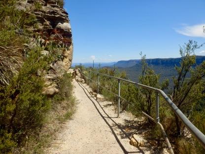 Blue Moutains NP on the east coast of Australia road trip