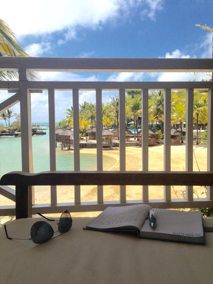 Paradise Cove Mauritius Writing Backdrops