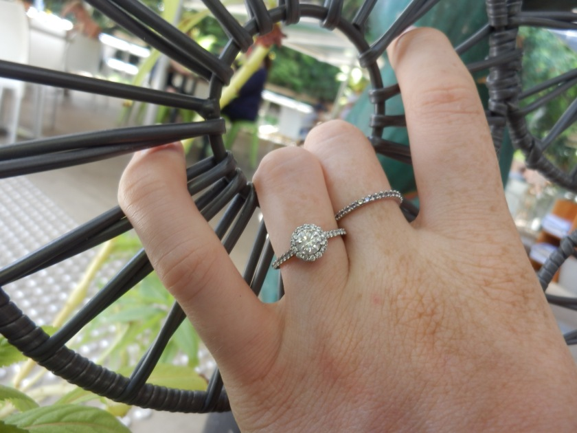 Cairns Botanic Gardens Engagement Ring