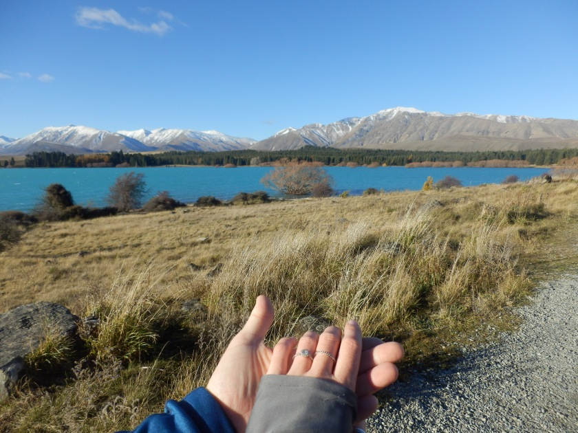 Couple Goals in New Zealand's Lake Tekapo