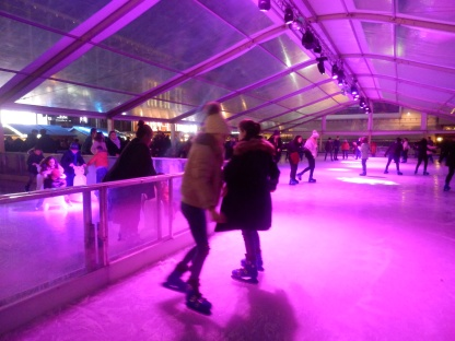 Ice skating at Palace de la Monnaie