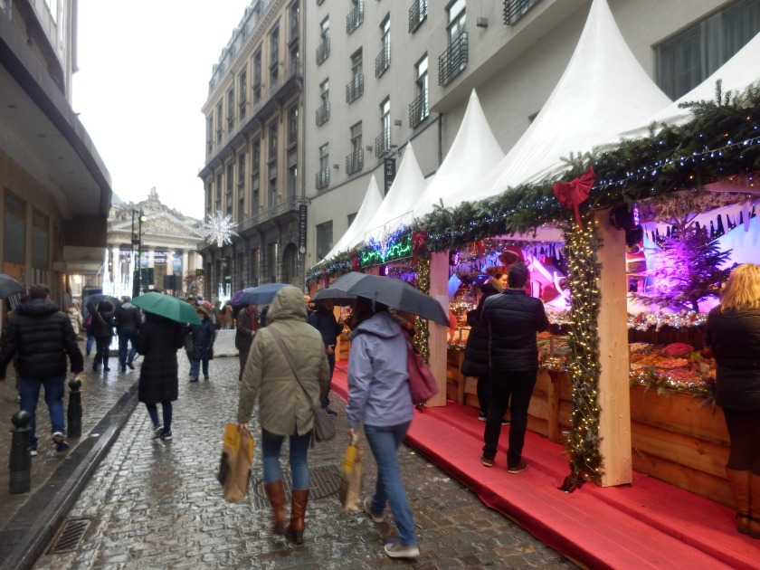 Christmas Shopping in Brussels