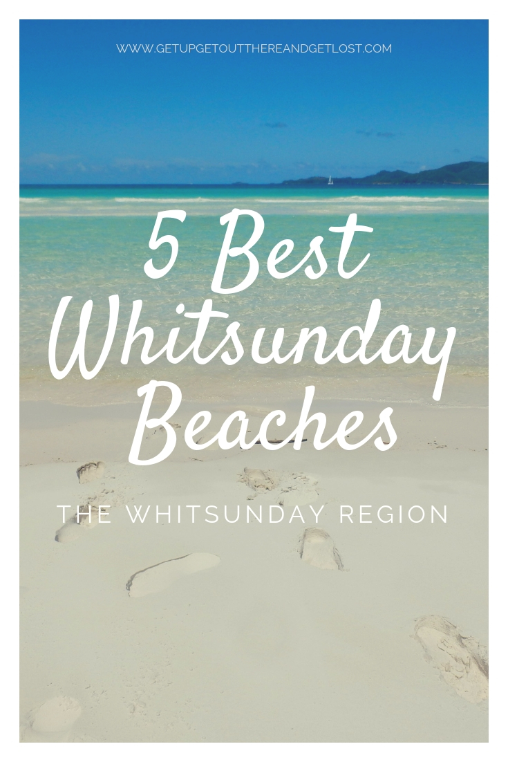 5 Best Whitsunday Beaches with Get Up, Get Out There & Get Lost