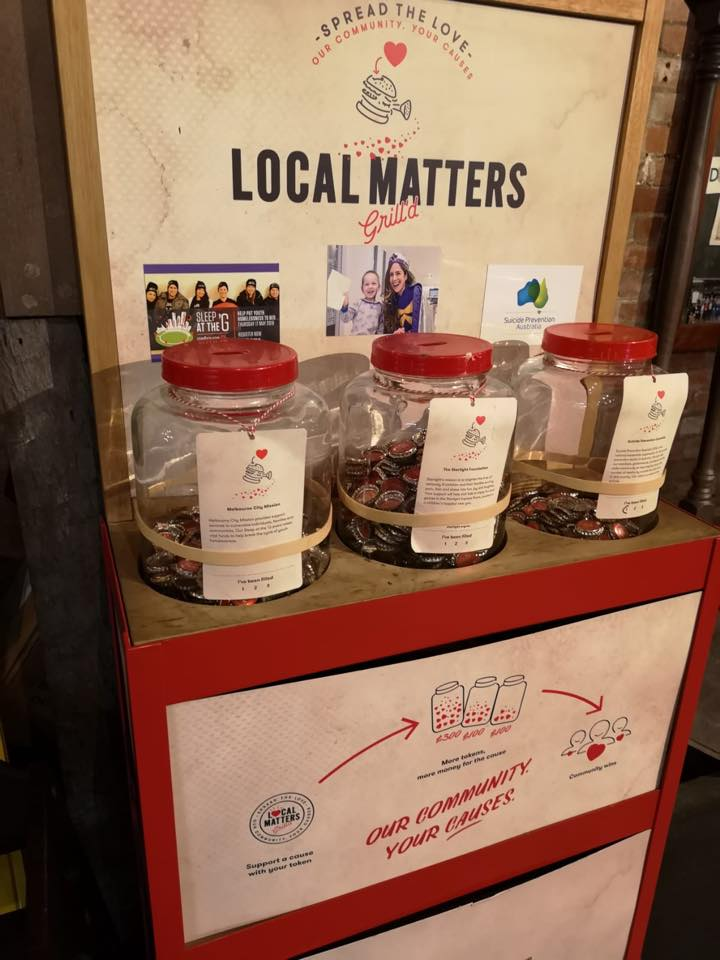 Local Matters at Grill'd
