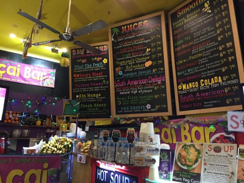Karen Rose: Tropicana Juice Bar Elizabeth Street