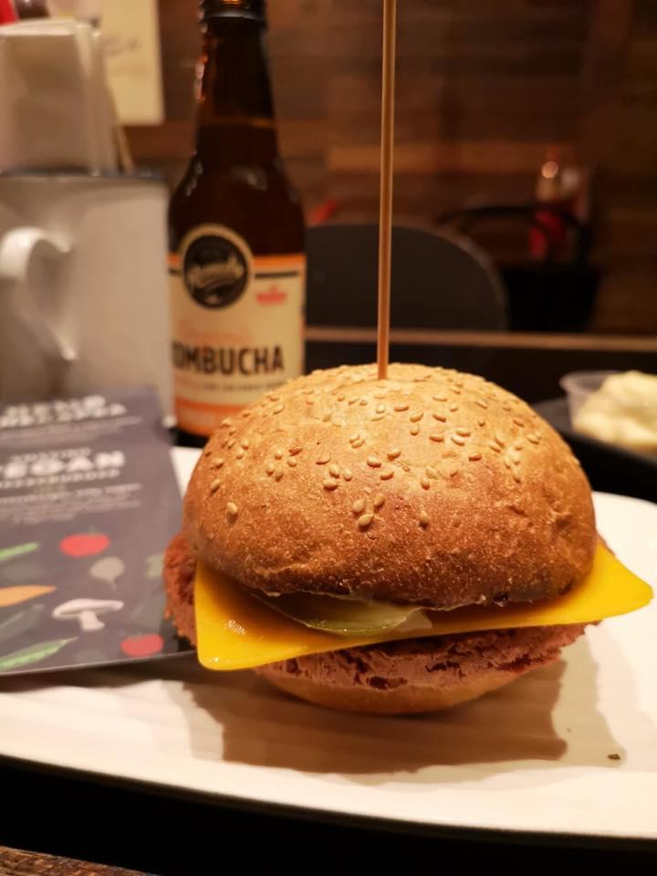 Vegan Cheeseburger at Grill'd Melbourne