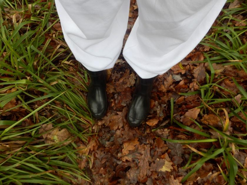 Winter Walks in England in Wellies