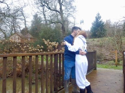 Kisses at The Buzzardry