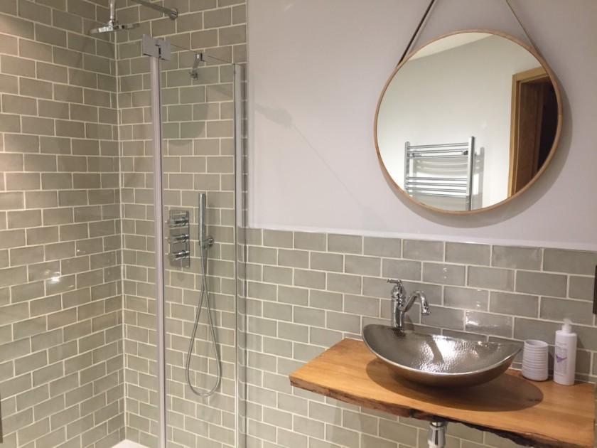 Ensuite Bathroom at The Buzzardry