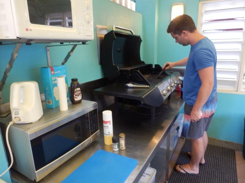 Outdoor BBQ, Queens Court Motel, Cairns