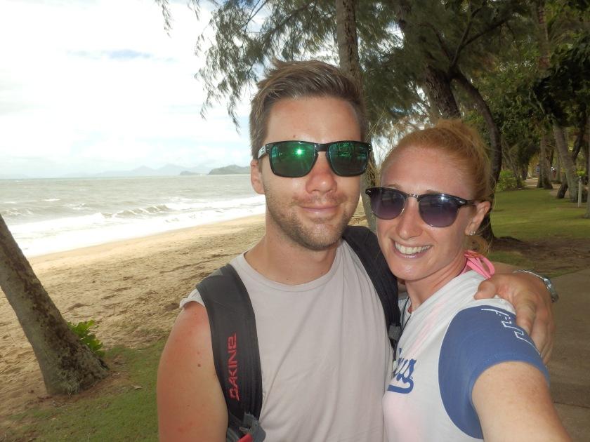 Matt and Karen at Palm Cove, Queensland