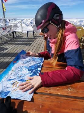 Breaks with the Piste Map in Les Deux Alpes