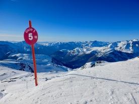 On Piste in Les Deux Alpes